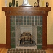Rockland Mission Fireplace Mantel MAS001FP
