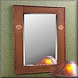 Newport Inlaid Mirror MAS260