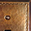 Copper Switch or Outlet Plates with Chased Edge VMSPlateChased