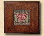Mission, Arts and Crafts, Custom Tile Frames, Stickley style