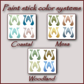 Mission, Arts and Crafts, Craftsman Stencil colors