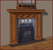Asheville Custom Fireplace Mantel MAS004FP