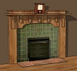 Mount Vernon Custom Fireplace Mantel MAS003FP