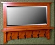 Engelwood Coat Rack with mirror MAS113