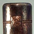Copper Millenium Rose Vase VMSCV220222