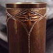 Copper Cathedral Vase VMSCV702