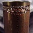 Copper Diamond Flower Vase VMSCV709