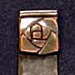 Copper Deluxe Rose Book Mark VMSBM210