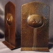 Copper Owl Bookends VMSOBE202