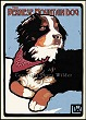 Bernese Mountain Dog Print LWDPBMD