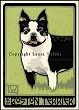 Boston Terrier Print LWDPBT