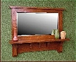 Habersham Shelf with Mirror MAS132